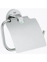Grohe Essentials Closetrolhouder Met Klep Chroom