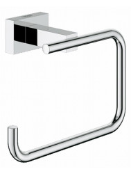 Grohe Essentials Cube Closetrolhouder Zonder Klep Chroom