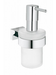 Grohe Essentials Cube Zeepdispenser Chroom