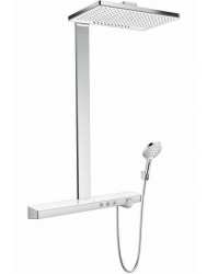 Hansgrohe Rainmaker Select 460 2jet Showerpipe Es Wit-chroom