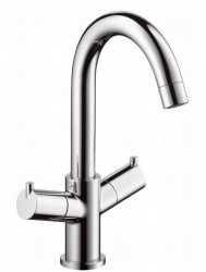 Hansgrohe Talis Wastafelkraan 2-greeps Chroom
