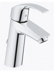 Grohe Eurosmart Es Medium Wastafelkraan Met Ketting Chroom