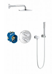 Grohe Grohtherm 2000 New Inbouw Comfortset Compleet Chroom
