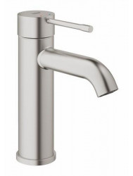 Grohe Essence New S-size Wastafelkraan Zonder Waste Supersteel