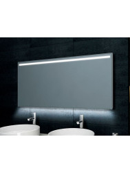 Spiegel Boss & Wessing Ambi One Led condensvrij 120x60cm | Tegeldepot.nl