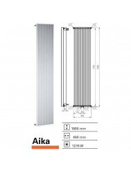 Designradiator Boss & Wessing Aika 1800 x 400 mm | Tegeldepot.nl