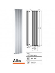 Designradiator Boss & Wessing Aika 1800 x 300 mm | Tegeldepot.nl