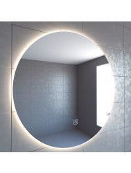 Badkamerspiegel Boss & Wessing Rond 100 cm Deluxe 2.0 LED Verlichting Warm White