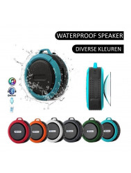 Speaker/Radio Waterbestendige Bluetooth Douche/Bad Mp3 Waterproof Rood