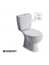SPHINX WC-Pack Carice compleet wit 3/6 ltr PK - 18 cm