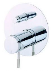 Cisal Step inbouw Bad/Douchemengkraan chroom ST00021021
