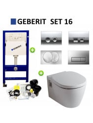 Geberit up100 set16 Ideal Standard Connect met Delta drukplaten