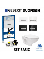 Geberit Duofresh Sigma 40 Hangtoilet Basic | Tegeldepot.nl