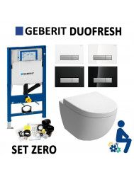 Geberit Duofresh Sigma 40 Hangtoilet Zero