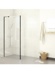 Inloopdouche Boss & Wessing Black Helder glas (30 t/m120 cm)