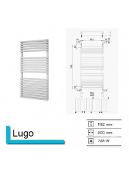 Handdoekradiator Boss & Wessing Lago 1182 x 600 mm