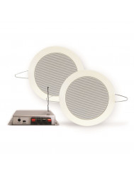 Bluetooth Music Center Aquasound 35 WATT / BT4.0 + Twist Speakerset