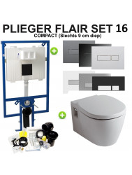 Plieger Flair Compact set16 Ideal Standard Connect