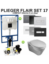 Plieger Flair Compact set17 Gustavsberg Saval