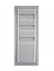 Radiator Sanicare Tube-On-Tube 1335 Watt Inclusief Ophanging 60x180 cm Wit