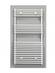 Radiator Sanicare Tube-On-Tube 880 Watt Inclusief Ophanging 60x120 cm Wit