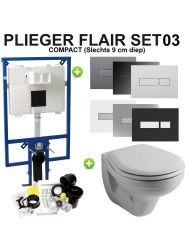 Plieger Flair Compact set03 Sphinx Econ 2.0 met Plieger Flair drukplaat