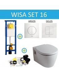 Wisa XS set16 Ideal Standard Connect (Met Argos of Delos drukplaat)