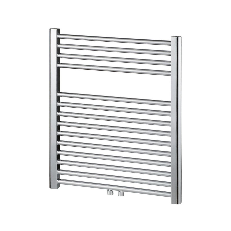 Designradiator Haceka Gobi Adoria 59×69 cm Chroom 6-Punts Aansluiting (258 Watt) Haceka Gratis bezorgd