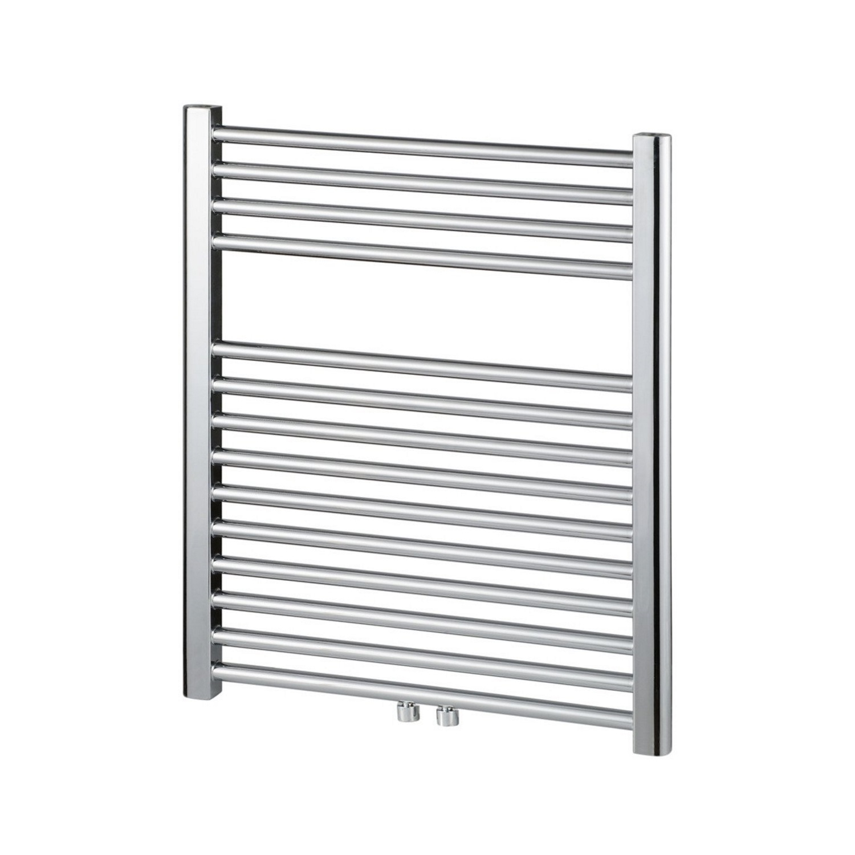 Haceka Gobi design radiator 69x59cm chroom, 6 punts