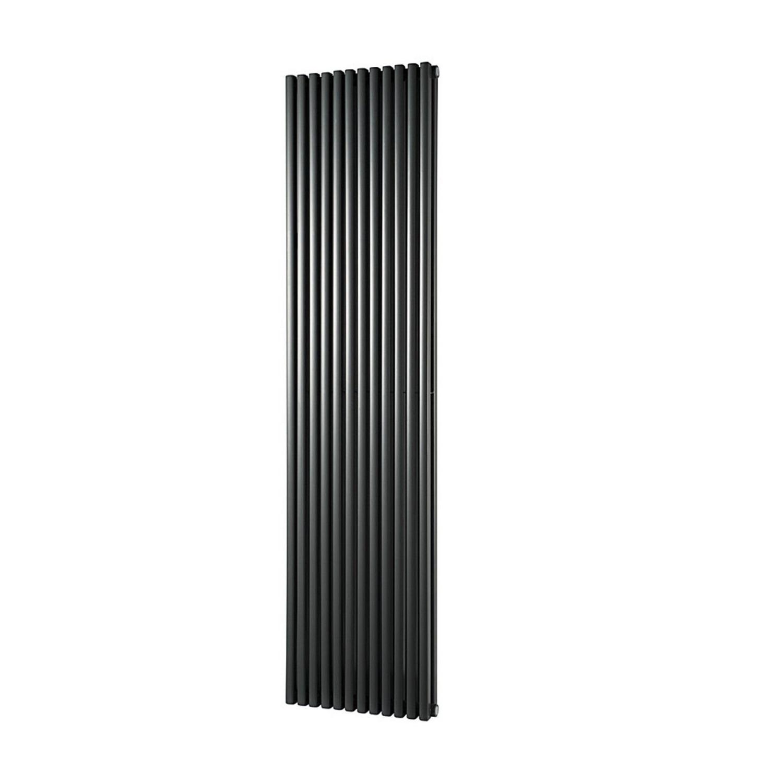 Designradiator Haceka Mojave Adoria 46x184 cm Antraciet 6-Punts Aansluiting (2177 Watt) voordeel
