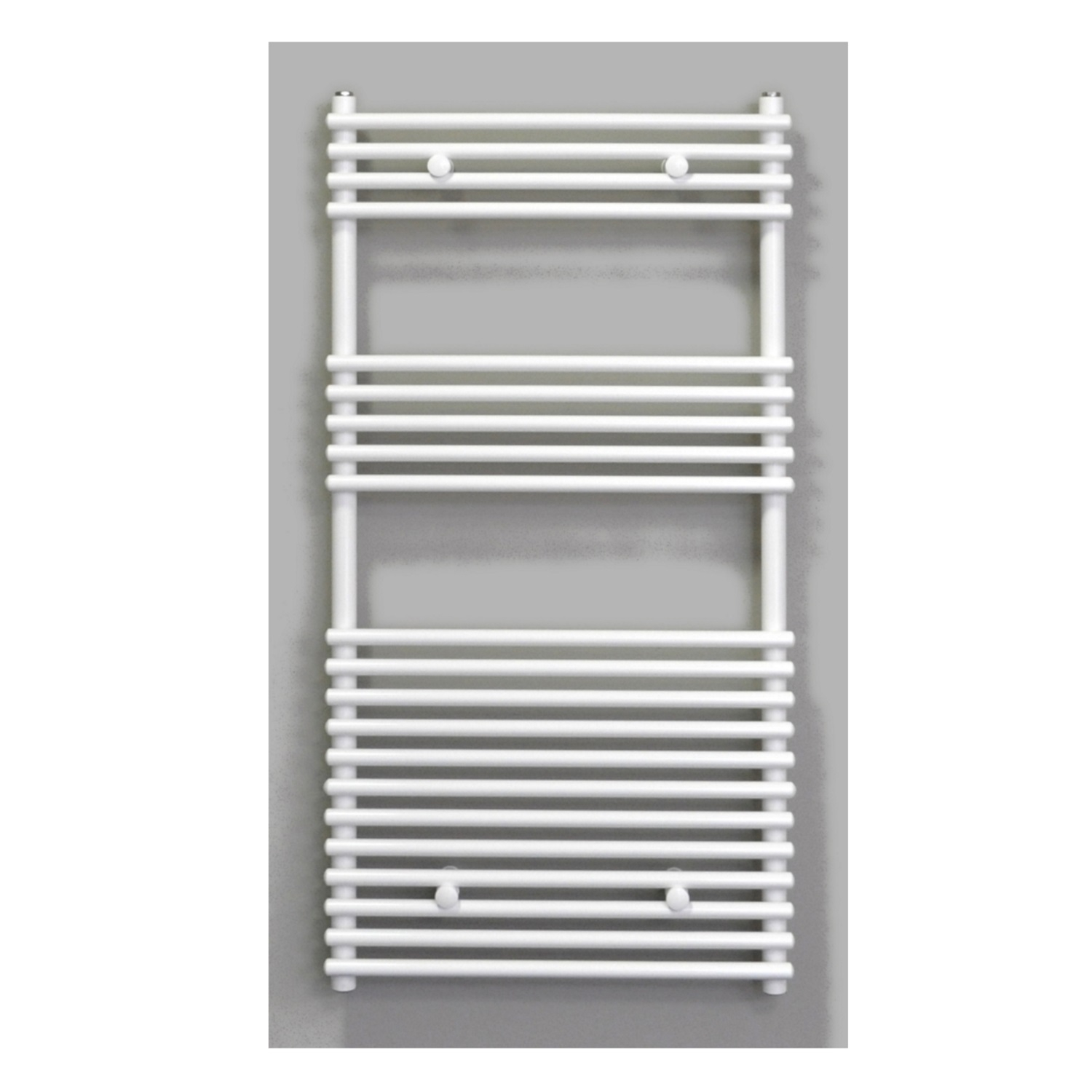 Radiator Sanicare Tube-On-Tube 880 Watt Inclusief Ophanging 60x120 cm Antraciet