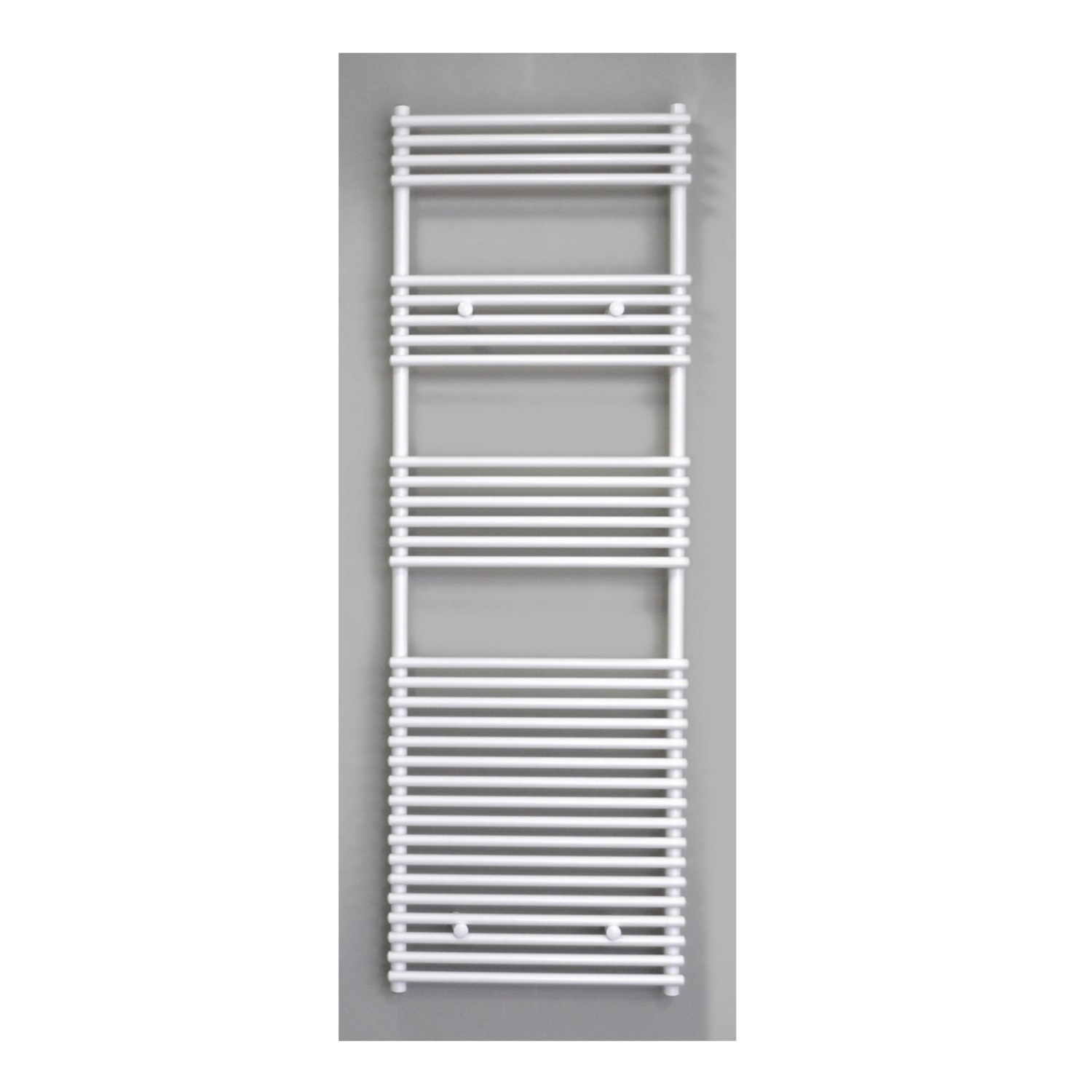 Radiator Sanicare Tube-On-Tube 1335 Watt Inclusief Ophanging 60x180 cm Antraciet