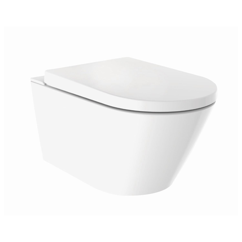 Productafbeelding van Douche WC Wiesbaden Vesta-ECO Randloos Wandcloset Wit