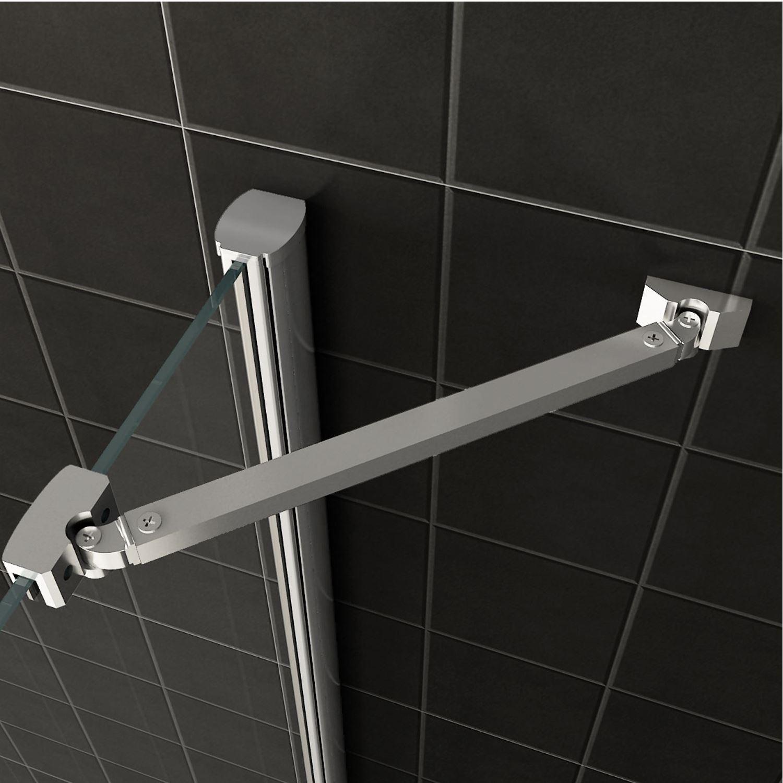 douchecabine wiesbaden hoek instap 2 deuren 90x90cm 8mm nano