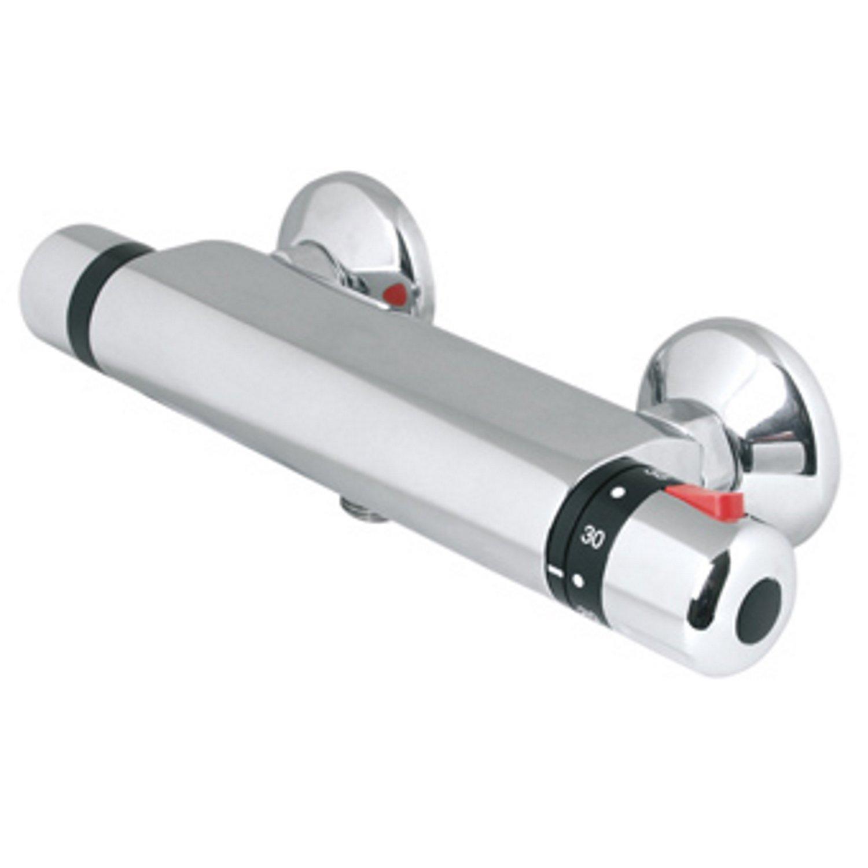 Douchekraan Thermostatisch Plieger Verano HOH 15 cm Chroom