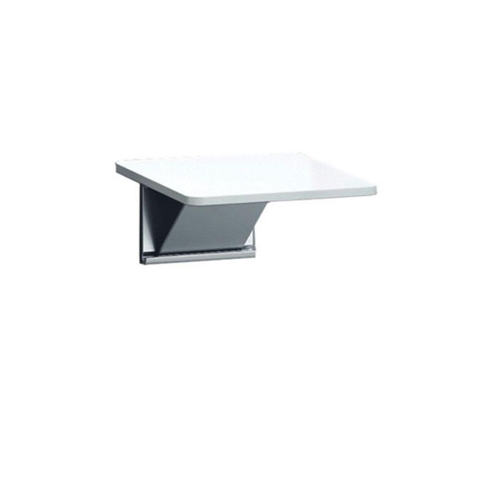 Douchezitting Handicare Linido Aangepast Sanitair 26,5x33 cm Opklapbaar Aluminium Wit kopen met korting doe je hier