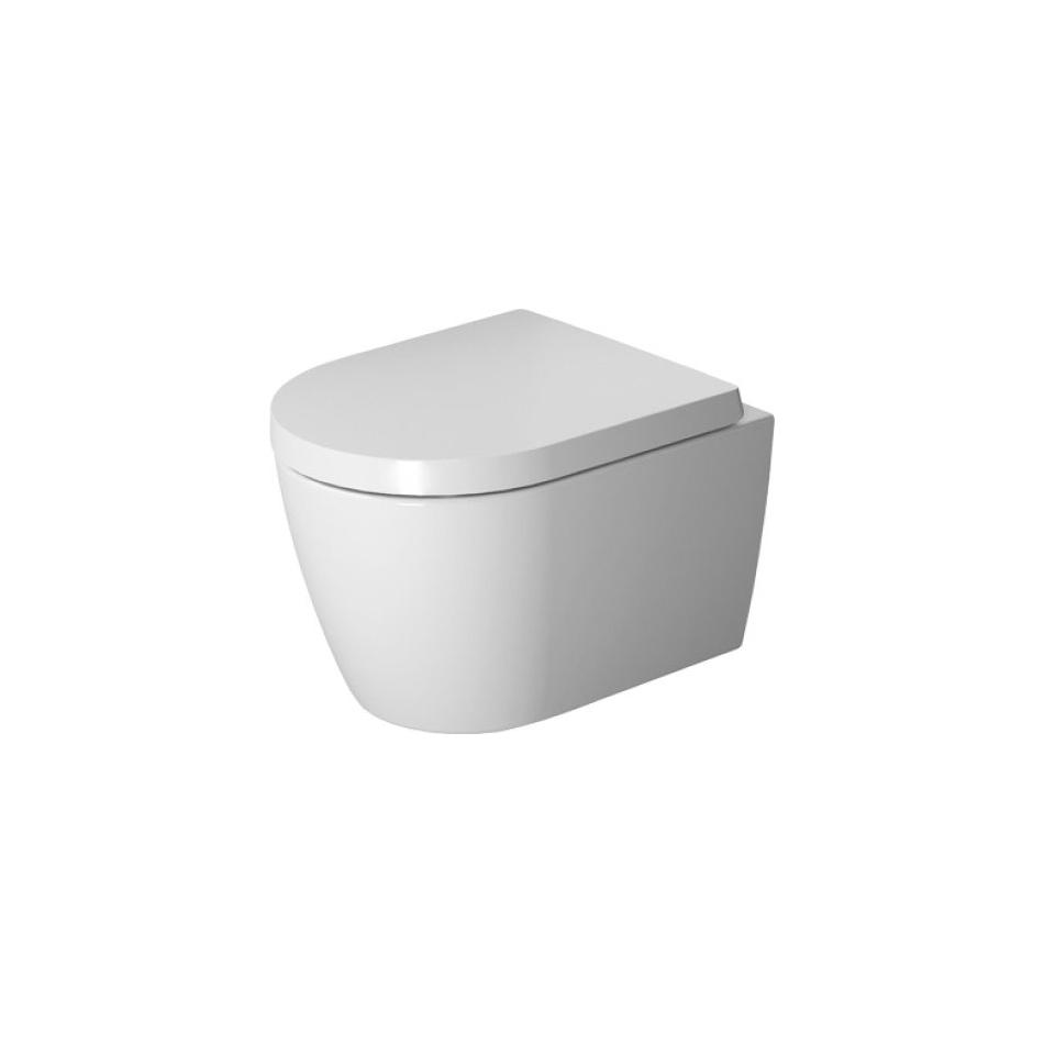 Productafbeelding van Duravit ME by Starck Wandcloset Compact Diepspoel 37x48x35 cm Hygieneglaze Keramiek Glanzend Wit
