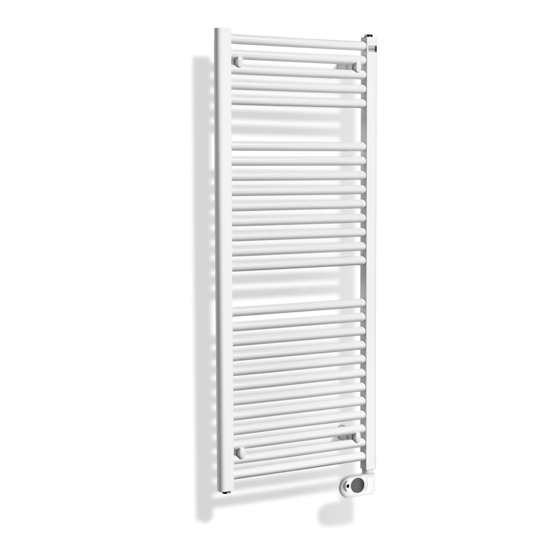 Badkamer radiator > Elektrische Radiator > Elektrische Radiator kopen? Elektrische Sierradiator Wiesbaden Elara 118.5×60 cm Wit het voordeligst hier