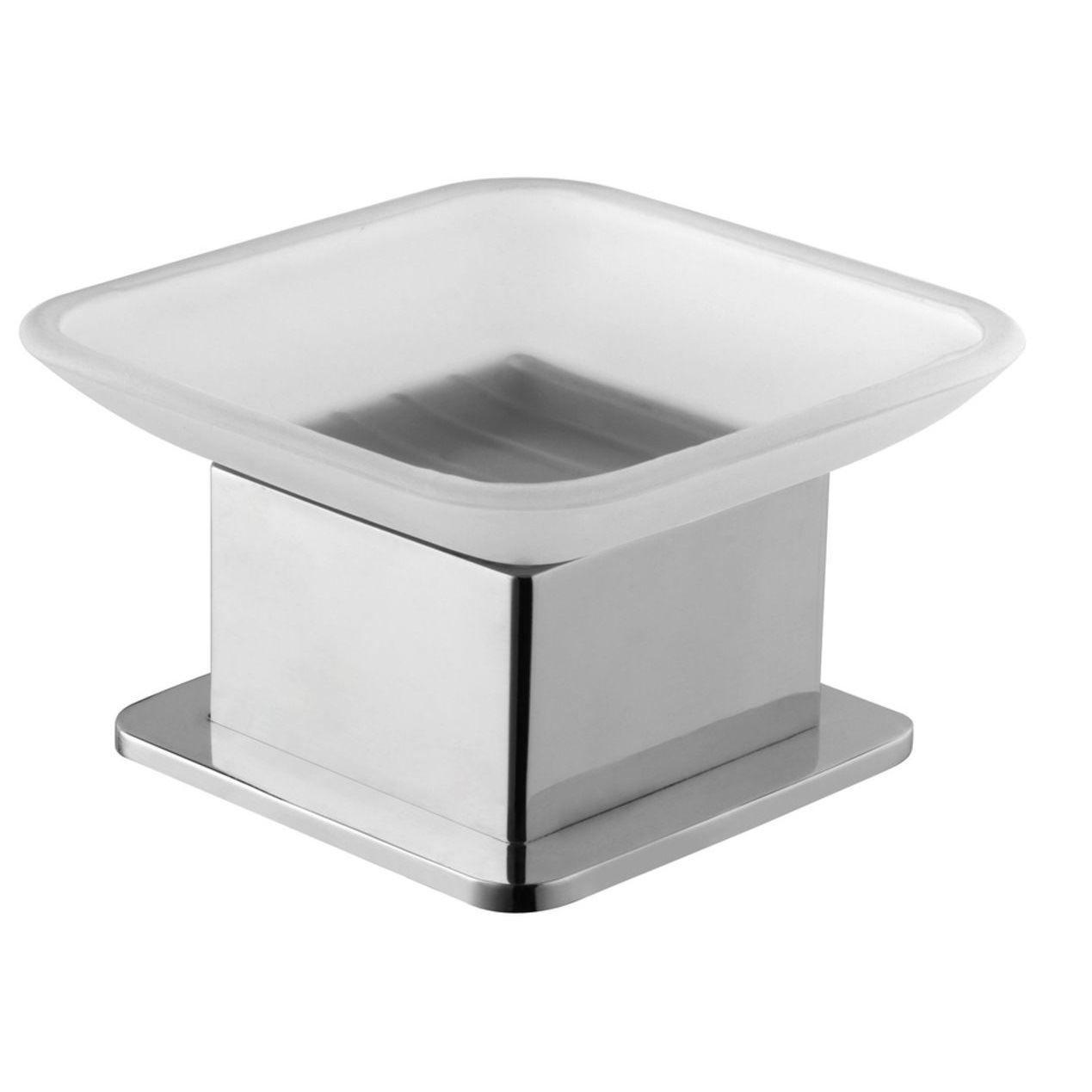 Eris vrijstaande zeepschaal chroom kopen - Tegel Depot sanitair met korting