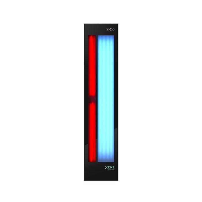 Productafbeelding van Feel Good Shower Xenz Infrarood Ultraviolet Inbouw 180 cm Zwart