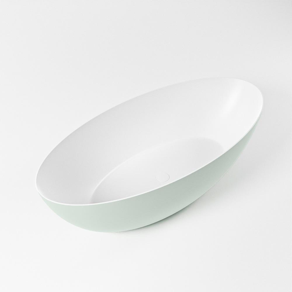 Productafbeelding van FLOAT vrijstaand bad 170x80cm kleur Greey / talc