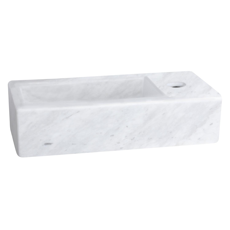 Fonteinset Differnz Mix En Match Helios 38x19x10 cm Marmer (Keuze Uit 5 Kleuren Kranen) Wastafels Fontein toilet van Differnz voor slechts 198.99 Euro snel in huis