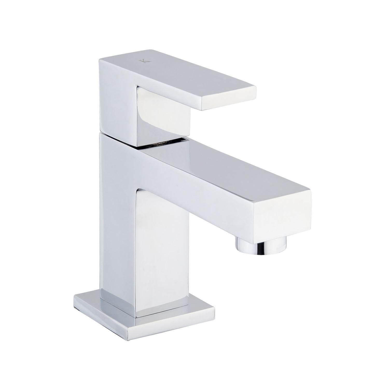 Mueller Cube vierkante toiletkraan chroom