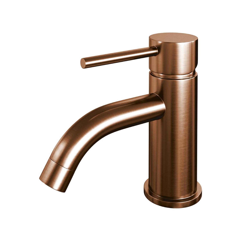 Productafbeelding van Brauer Copper Edition fonteinkraan laag model Koper Geborsteld PVD