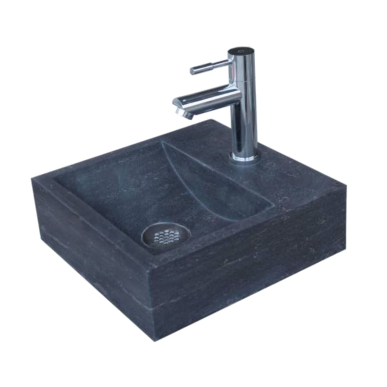 Wastafels > Fontein toilet > Natuursteen Fontein