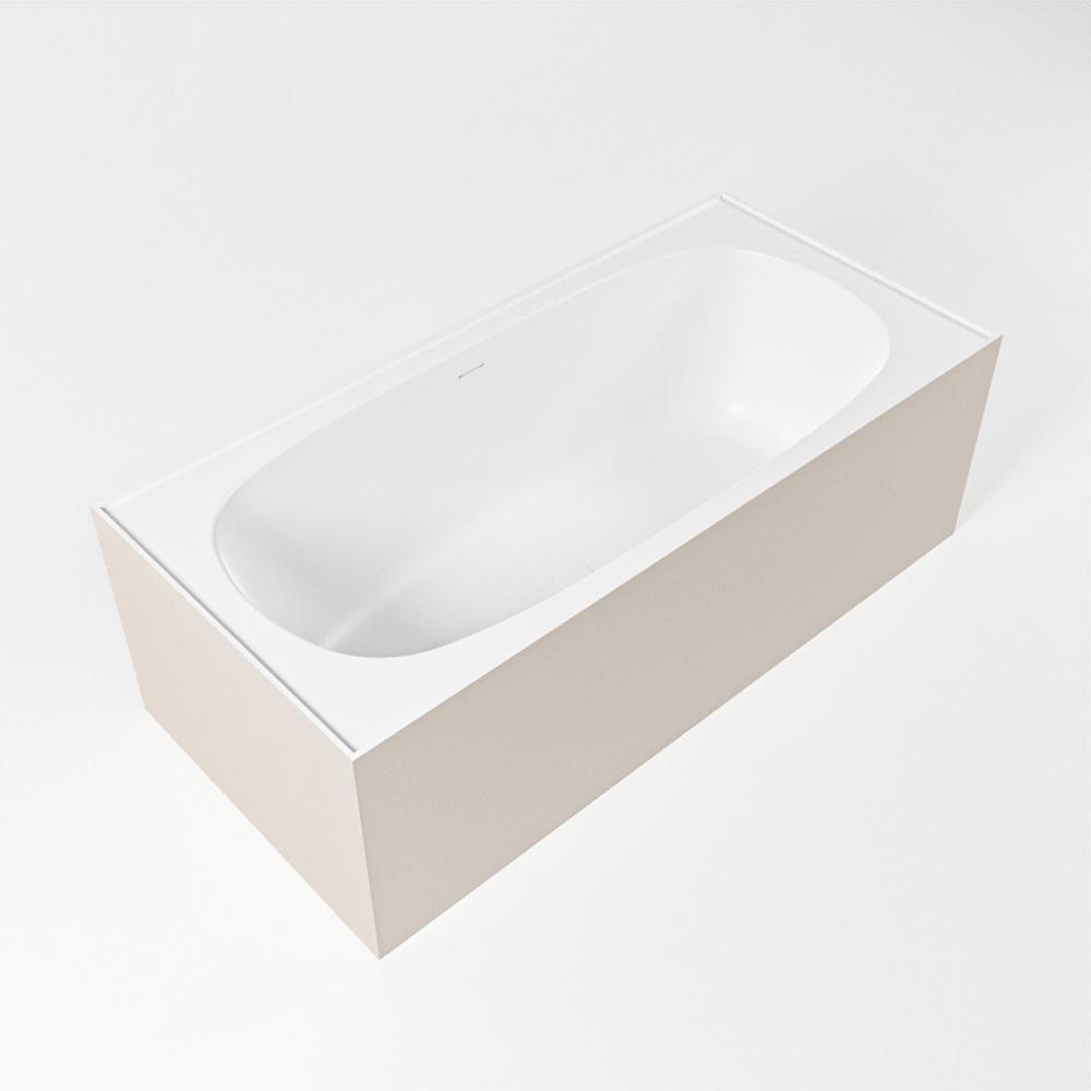 FREEZE vrijstaand bad 180x85cm kleur linen / talc