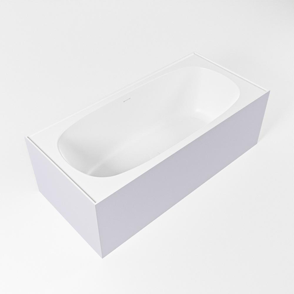 FREEZE vrijstaand bad 180x85cm kleur Cale / talc