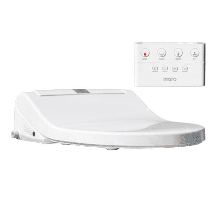 Maro D'Italia DI600 Douchewc met Traditionele Afstandsbediening Met softclose Wit voordeel