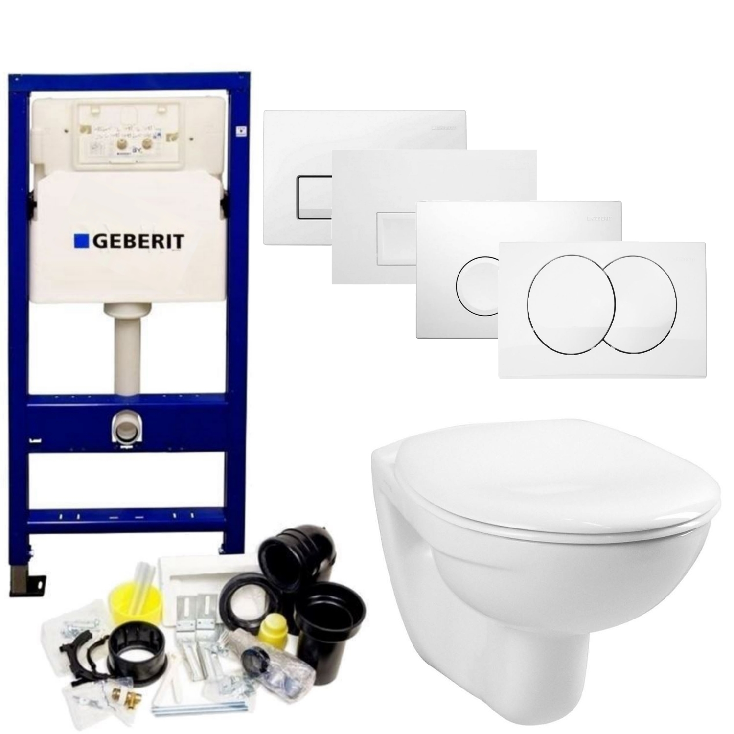 Aktieset geberit up100 toiletset start wandcloset met for Geberit products