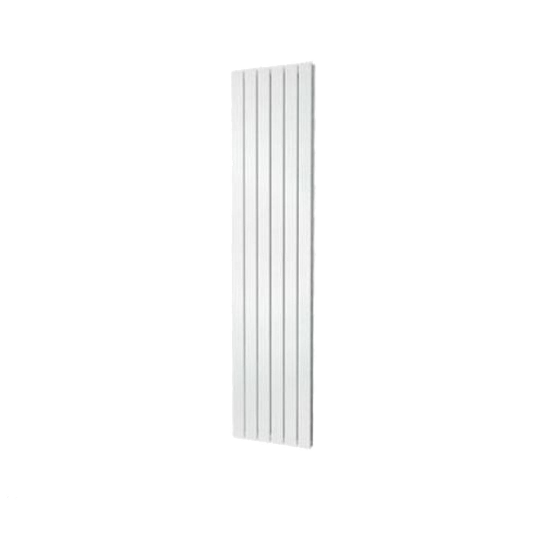 Designradiator Plieger Cavallino Retto Enkel 1205 Watt Middenaansluiting 180×60,2 cm Wit